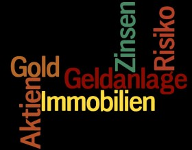 Aktien im Vergleich mit Zins-Geldanlagen, Gold und Immobilien